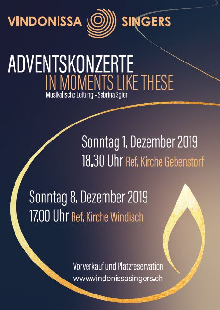 flyer adventskonzerte 2019